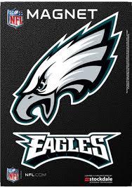 Philadelphia Eagles 5x7 Logo Car Magnet Midnight Green 16859957