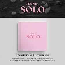 Blackpink Jennie Solo Photobook Price:... - Lalaine Armario Kpop ...