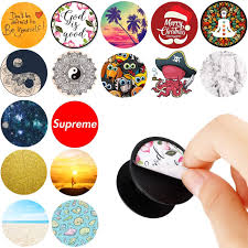 Amazon Com Pack Of 16 Easy To Change Stickers For Pop Mount Holder Socket Office Products