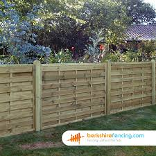 Square Horizontal Fence Panels 4ft X 6ft Brown Pn1979 Horizontal Fence Fence Design Garden Fencing