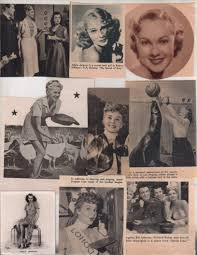 Amazon.com: Adele Jergens original clipping magazine photo lot #R0312:  Entertainment Collectibles
