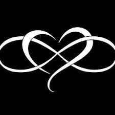 Family Infinity With Heart Vinyl Decal Sticker Window Wall Car Etsy