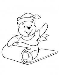 Winnie The Pooh Christmas Printables Kleurplaten Kleurboek En
