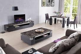 lizz black living room furniture tv