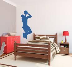 Basketball Silhouette Wall Decal Basketball Player Wall Decal