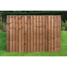 6ft X 4ft Standard Feather Edge Fence Panel Worcester Timber Products
