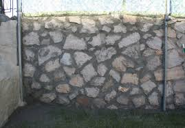 rock wall repair and paint