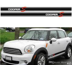 2020 Car Styling Side Stripe Decal Stickers For Mini Cooper R50 R52 R53 F56 R56 R57 Countryman R60 Coopers Graphics Accessories From Ldyou1990 38 4 Dhgate Com