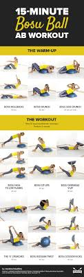 15 minute bosu ball ab workout warm