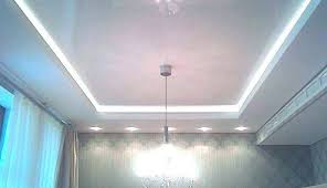 drop ceiling basement lighting recessed