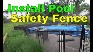 Install Pool Safety Fence Dewalt Hammer Drill Guide Youtube