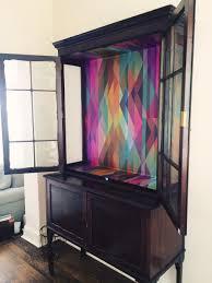 using paint or wallpaper inside