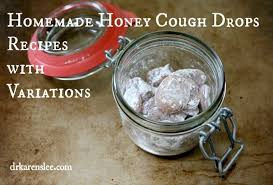 ginger honey cough drops recipe