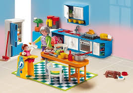 Grand Kitchen Playmobil Houses And Furniture 5329
