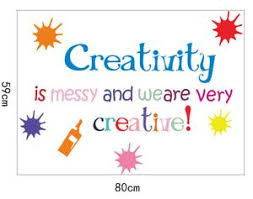 Creativity School Vinyl Wall Quotes Decal Kamiqiwallz