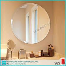 china frameless bathroom beveled polish