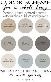 paint colors for home farmhouse paint
