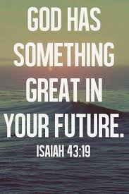 god has something great in your future picture quotes