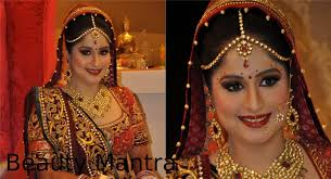 how to do wedding makeup in hindi