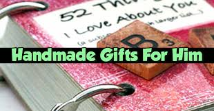 handmade gift ideas for him diy gifts