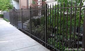 Metal Steel Fence Design Picture Interunet