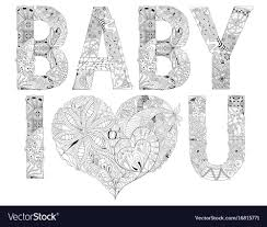 you for coloring royalty free vector image