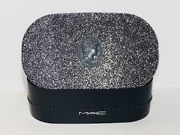 mac glittery hard case makeup holder