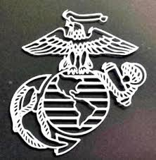Usmc United States Marines Corps Auto Window Vinyl Decal Sticker 5 1 2 Inch Ebay