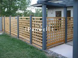 Garden Fence Design 21 By Prowell Woodworks Fence Design Garden Fence Panels Garden Fence