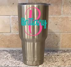 Yeti Decal Cup Decal Yeti Decal For Women Cup Decal For Etsy Yeti Decals Decals For Yeti Cups Yeti Tumbler Decal