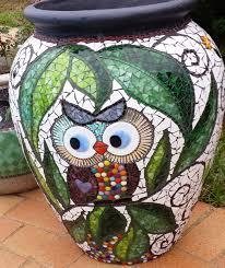 portfolio mosaic garden pots