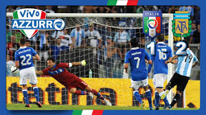 Italia-Argentina 1-2 (14 agosto 2013) - YouTube
