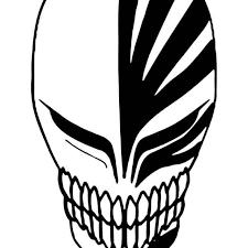 Bleach Hollow Mask Vinyl Sticker