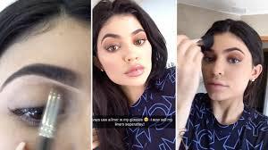kylie jenner simple makeup tutorial