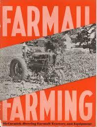 mccormick deering farmall tractors and