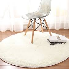 120 X 120cm Fluffy Round Rug Carpet For Living Room Kids Bedroom Modern Soft Short Plush Floor Area Mats Area Rugs Online Iranian Carpets From Huweilan 21 88 Dhgate Com