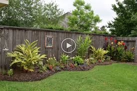 Awe Inspiring Backyard Landscaping Ideas Along Fence Now Some Individuals Wont Ever Carry O In 2020 Vinyl Fence Landscaping Landscaping Along Fence Fence Landscaping