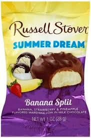 russell stover banana split summer