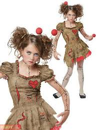 girls teen deluxe voodoo doll costume