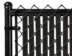 Black 5ft Tube Slat For Chain Link Fence Walmart Com Walmart Com