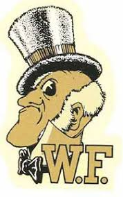 Wake Forest University Demon Deacons Vintage Looking Travel Decal Sticker Ebay