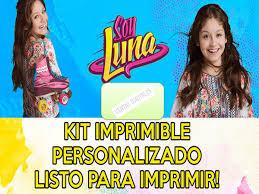 Kit Soy Luna Imprimible Personalizado Cumpleanos Fiestas Bs