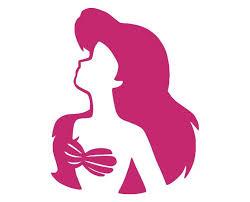 Ariel The Little Mermaid B Die Cut Vinyl Decal Sticker Decals City