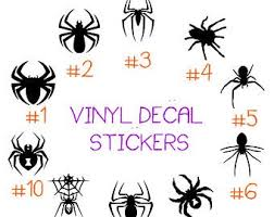 Black Widow Decal Etsy