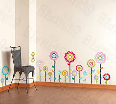Amazon Com Flower Lollipop 1 Wall Decals Stickers Appliques Home Decor Baby