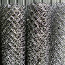 Silver Chain Link Wire Mesh Fence For Fencing Thickness 2mm To 3mm Id 16495072533