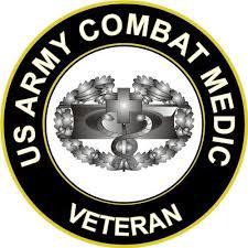 Magnet 5 5 Us Army Combat Medic Veteran Decal Magnetic Sticker Walmart Com Walmart Com