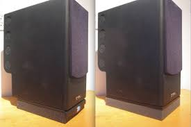 diy speaker monitor isolation pad to