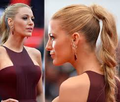blake lively cannes hair makeup gucci