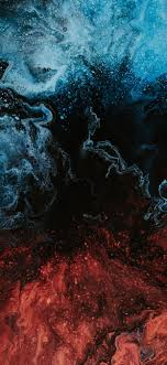 red and blue wallpaper iphone